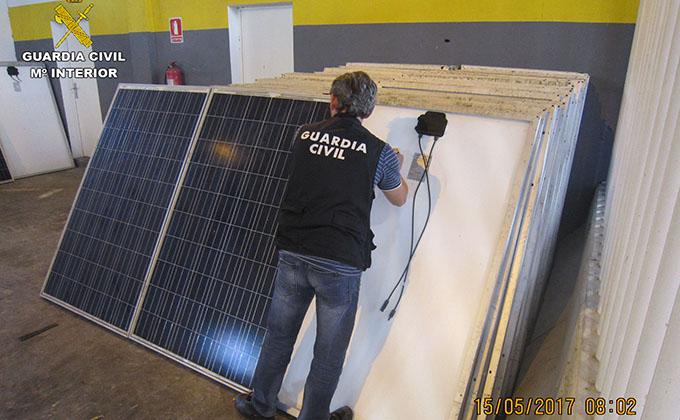 placas solares recuperadas
