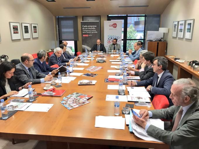 PREMIO CEAJE Foto reunión jurado 15 jun17