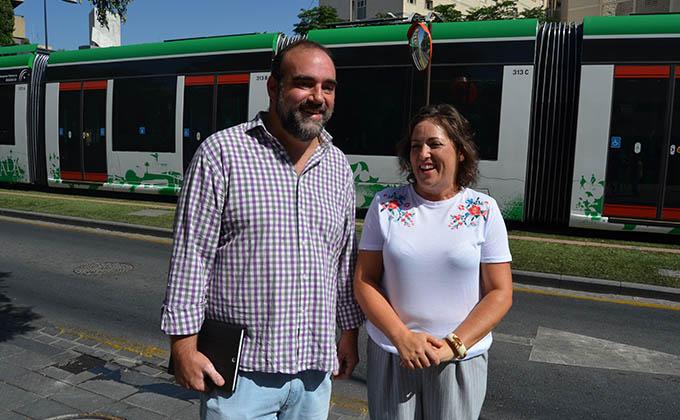 Paco Puentedura María del Carmen Pérez Metro de Granada