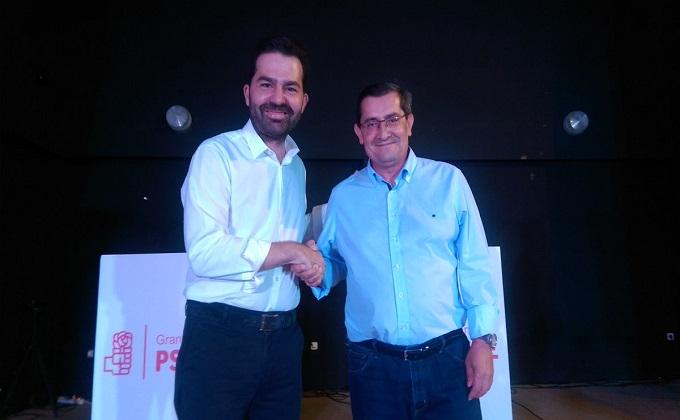 noel lopez y jose entrena - PSOE Granada