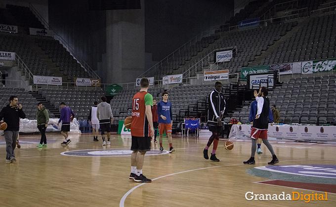 Entrenamiento Granada Baloncesto Coviran-23