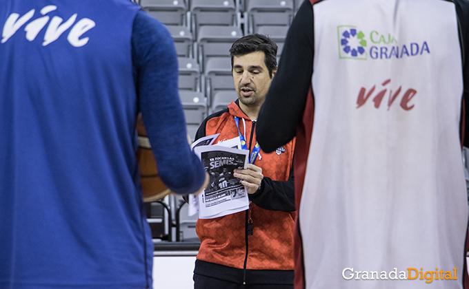 Entrenamiento Granada Baloncesto Coviran-5