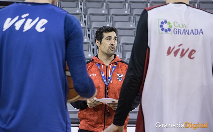 Entrenamiento Granada Baloncesto Coviran-6