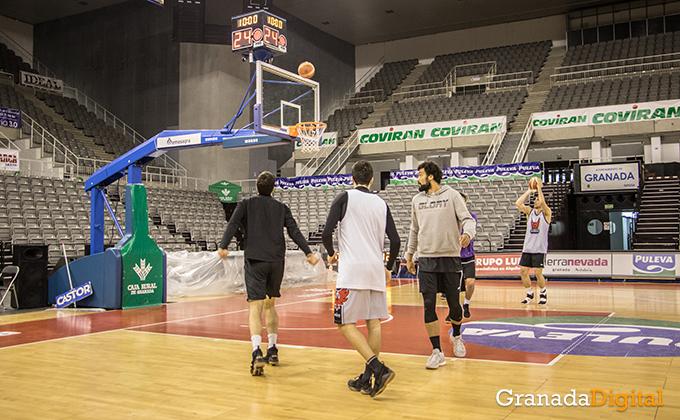 Entrenamiento Granada Baloncesto Coviran-9