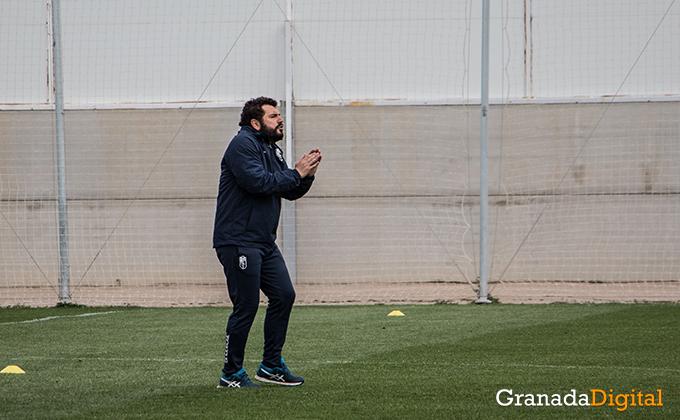 Entrenamiento Granada Club de Futbol B-27