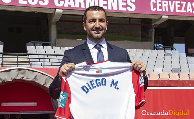 Presentación Diego entrenador Granada CF 01