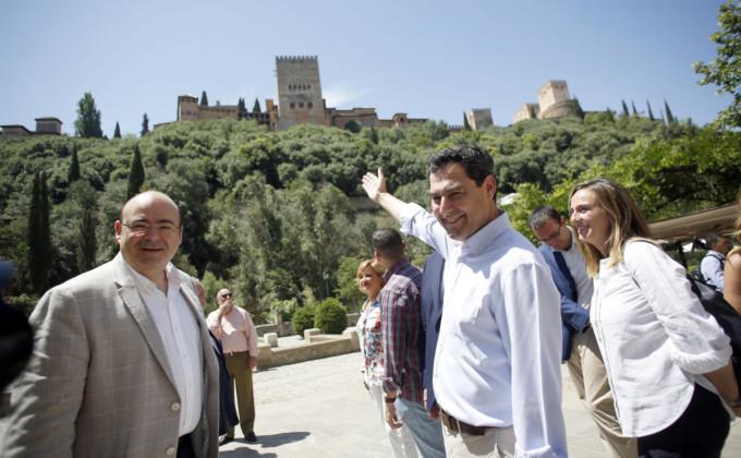 juanma moreno Granada