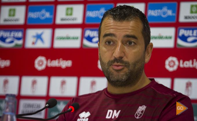 Rueda de prensa de Diego Martinez