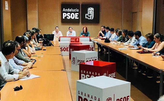 ejecutiva provincial del PSOE