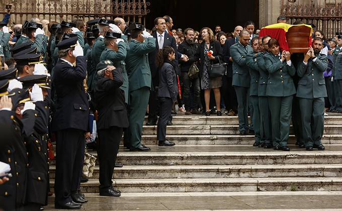 misa funeral guardia civil
