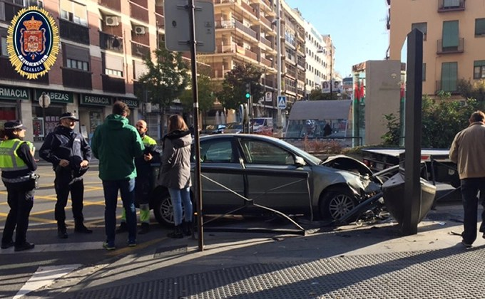 accidente camino de ronda