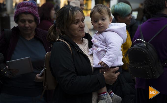 concentracion a favor de las madres en la plaza del carmen Foto Antonio L Juarez -9857