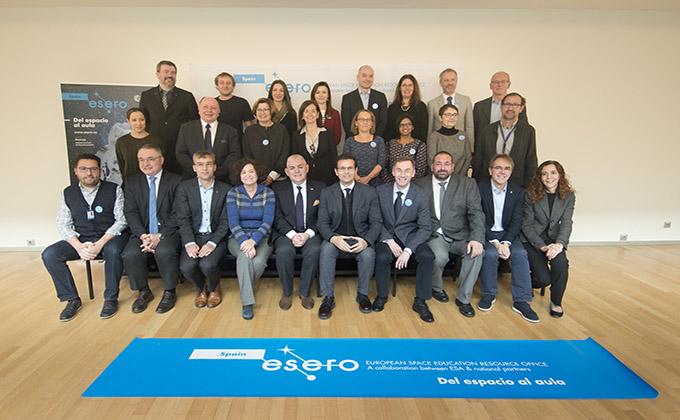 Agencia Espacial Europea reúne a su comité