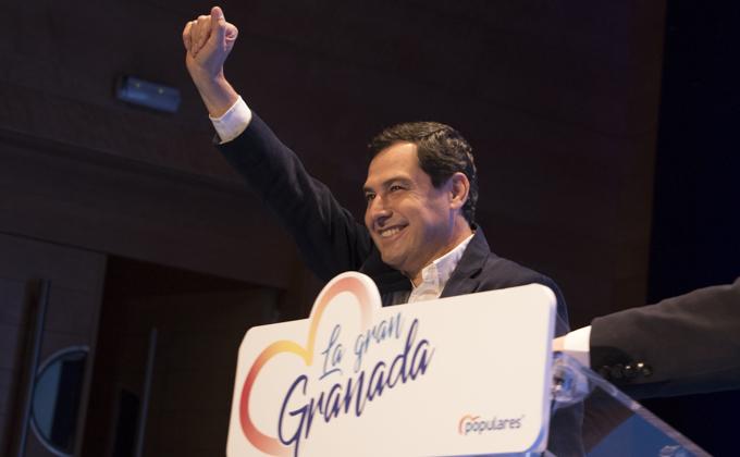 Presentacion de la candidatura del Sebastian Perez a la alcaldia de Granada Foto Antonio L Juárez-11