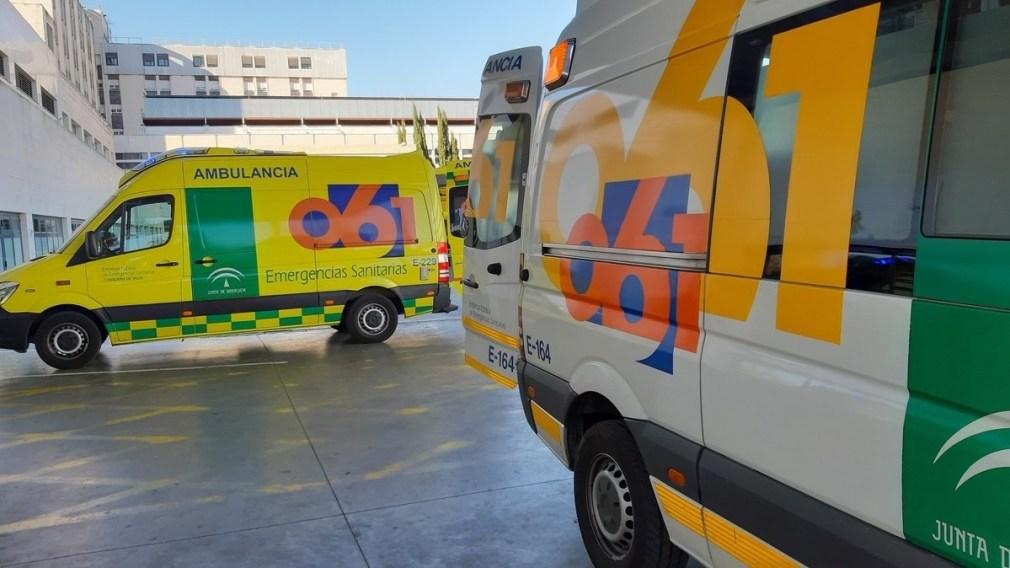 EuropaPress_2226110_Ambulancias_del_061