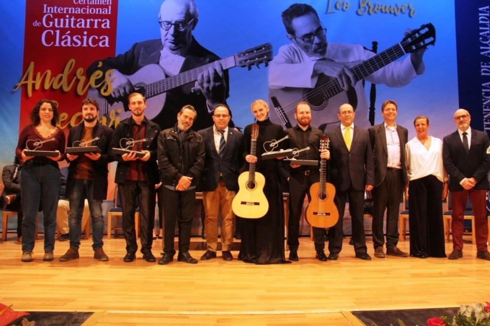 """La Alemana Julia Trintschuk Gana El Xxxiv Certamen Internacional De Guitarra Clásica """"Andrés Segovia"""" De La Herradura"""