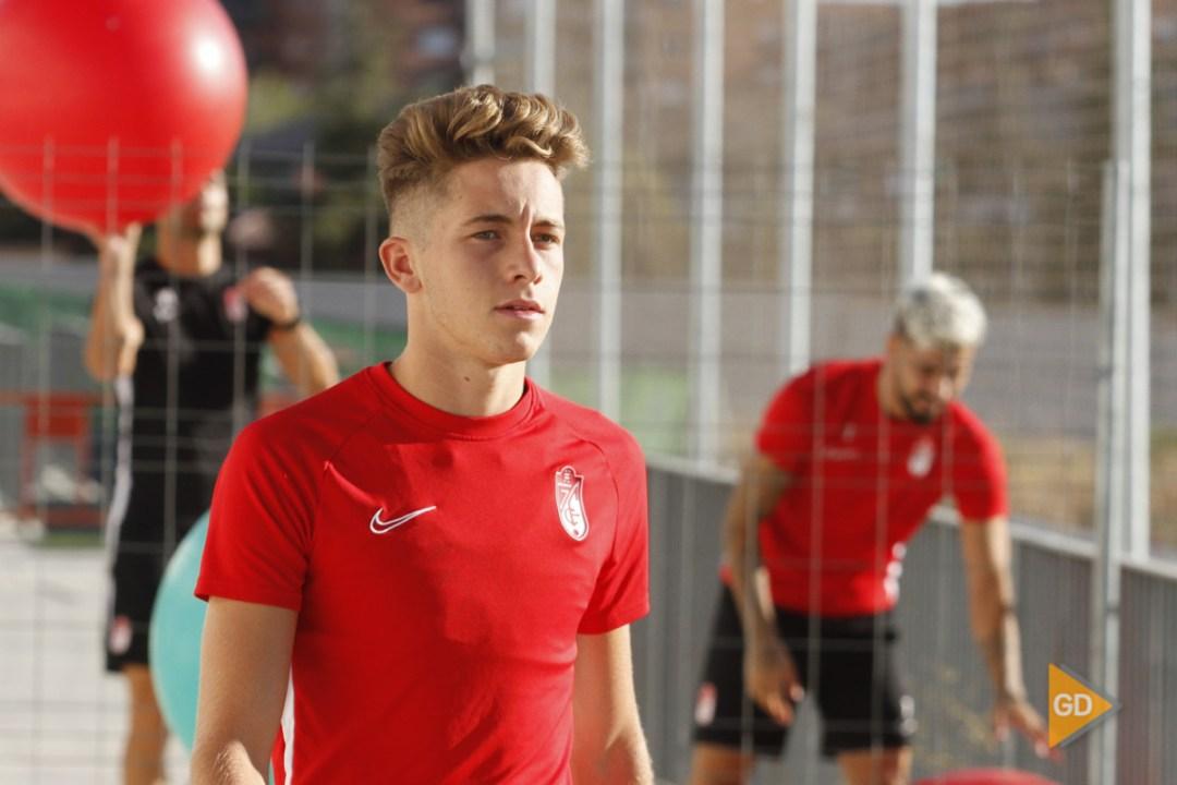 entrenamiento del Granada CF