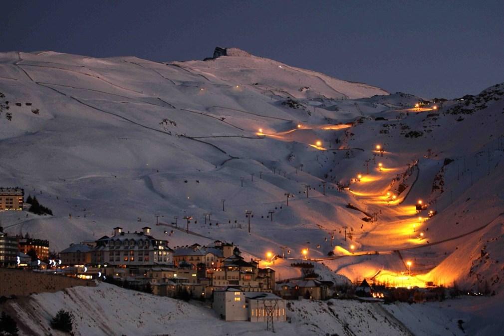 esqui-nocturno