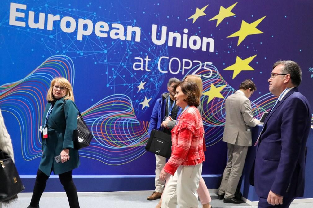 Novena jornada de la Cumbre del Clima (COP25) en Madrid