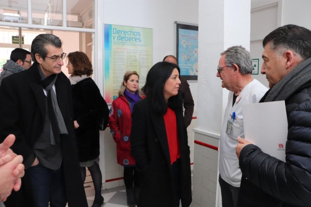 """Granada.- La eurodiputada Idoia Villanueva califica de """"crisis humanitaria"""" los cortes de luz en el Distrito Norte"""