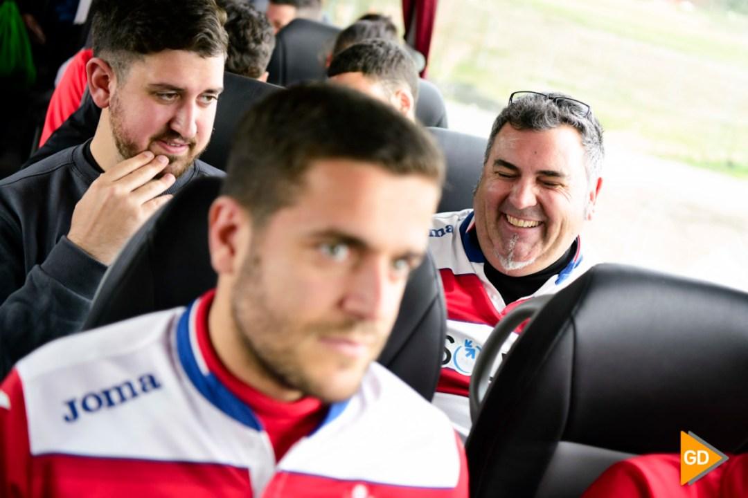 Viaje de la afición del Granada CF a Bilbao