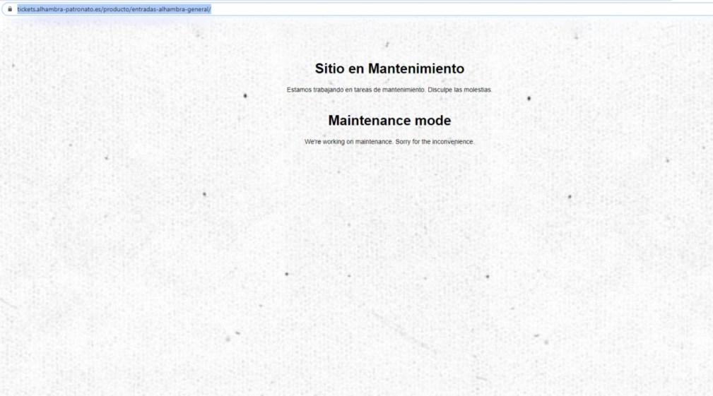 web ticket alhambra