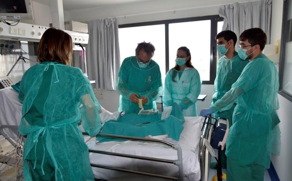 hospital covid enfermería