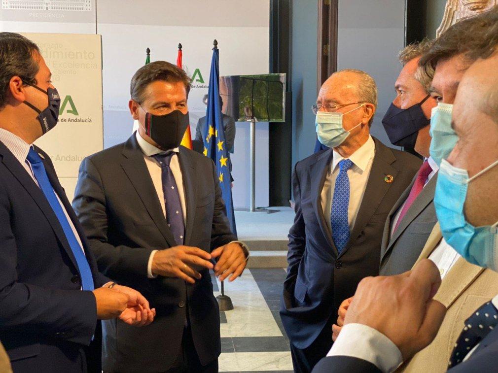 luis salvador alcaldes andalucia reunion san telmo