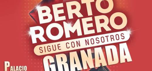 Berto Romero llega al Palacio de Congresos de Granada