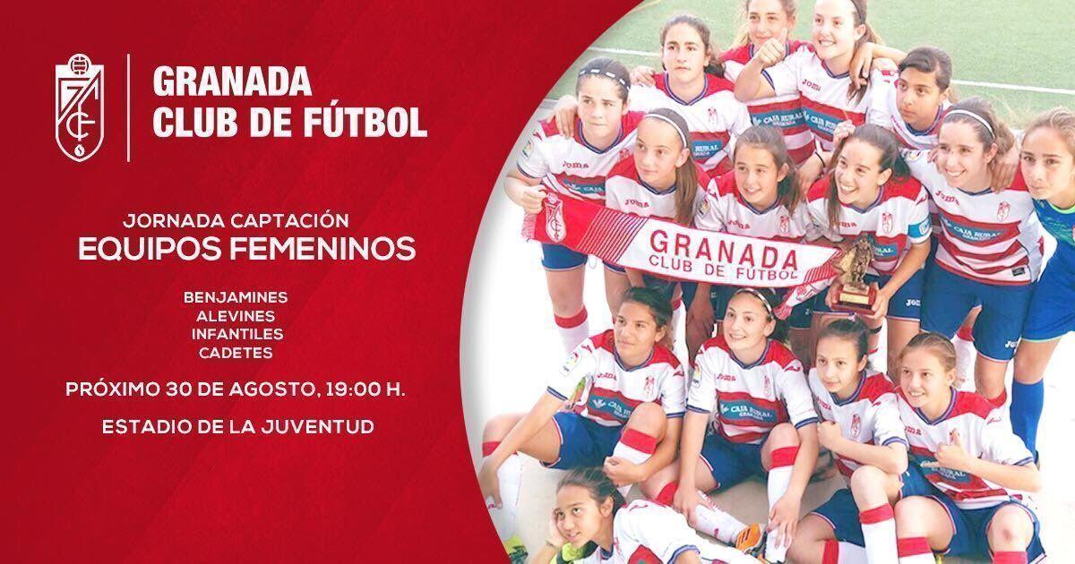 El Granada CF Femenino convoca nueva campaña de captación