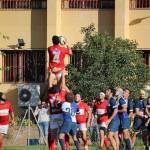 El CDU Granada de rugby masculino acaricia la victoria en División Honor B