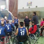 CD Granada Integra sufre una derrota agridulce en baloncesto silla de ruedas