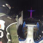 Josito Aragón, trigésimo en la prueba de snowboard en Milán