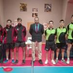 CTM Ciudad de Granada asegura la fase de ascenso con un doblete en tenis de mesa