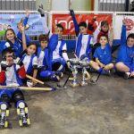 El Club Hockey Patín Cájar domina en la Liga Andaluza en categoría prebenjamín