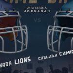 Derrota sin paliativos para Granada Lions ejerciendo de anfitriones