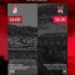 Día del deporte granadino en rojinegro y rojiblanco de manera conjunta