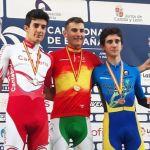 Carlos Rodríguez consigue el oro nacional junior de contrarreloj