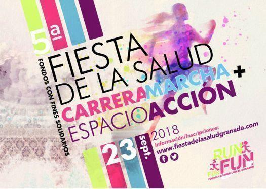 """El Colegio de Médicos de Granada organiza la """"Marcha Familiar Fiesta de la Salud"""""""