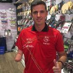 Jose Manuel Ruiz afronta el Open de España en tenis mesa