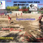 El Club Voleibol Sermud Armilla organiza un torneo de voley playa