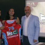 Domca se une al CD TEAR Ramón y Cajal para impulsar a la mujer en el deporte