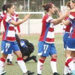 El Granada Femenino mantiene liderato con un holgado triunfo ante el Extremadura UD