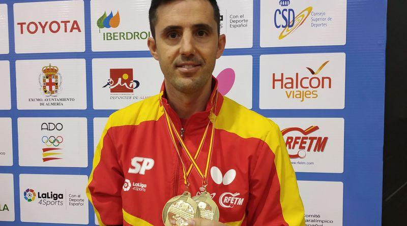 Dos preseas para José Manuel Ruiz en el Open Internacional de España