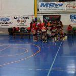 Nevadis Albolote CV'16 trunca su racha de triunfos en Primera Nacional de voleibol