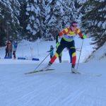 Victoria Padial brilla con luz propia en las pruebas de Biathlon