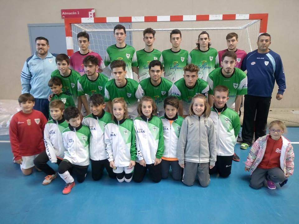 El año nuevo presenta una victoria esencial para el Barpimo Futsal Alhendín