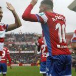 El Granada CF celebra su 88 cumpleaños venciendo al Málaga CF en un ambiente espectacular en Los Cármenes