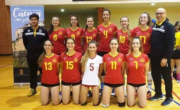 El CDU Atarfe consigue el ascenso a Primera División Nacional Femenina de voleibol de manera brillante