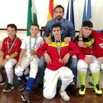 La IV Copa Andalucía de esgrima reparte medallas en la localidad granadina de Maracena